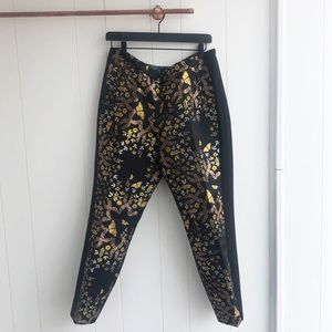 Ted Baker Pants - Ted Baker Kyoto Gardens Butterfly Brocade Trousers